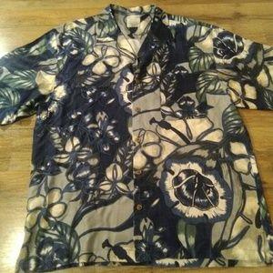 Tommy Bahama shirt size large